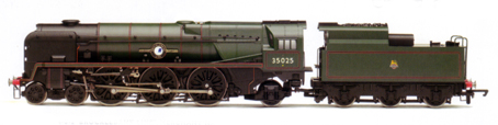 Merchant Navy Class Locomotive - Brocklebank Line