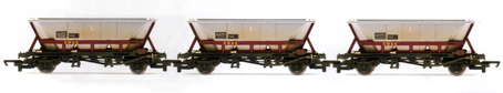 EWS MGR Hoppers - Three Wagon Pack (Weathered)