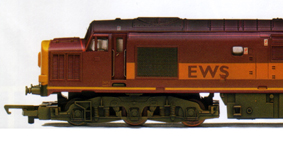 Class 37 Diesel Electric Locomotive (Multiple Working) (Weathered)