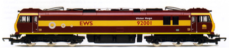 Class 92 Co-Co Electric Locomotive - Victor Hugo