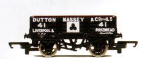 Dutton Massey 4 Plank Wagon