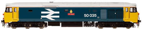 Class 50 Co-Co Diesel Electric Locomotive - Ark Royal