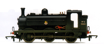 Class J52 0-6-0ST Locomotive (Weathered)