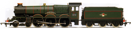 Castle Class Locomotive - Hampden