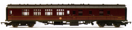 B.R. Mk1 Brake Coach (Weathered)
