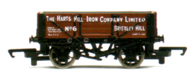 The Harts Hill Iron Company 4 Plank Wagon