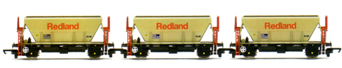 Redland Procor Hoppers - Three Wagon Pack (Weathered)