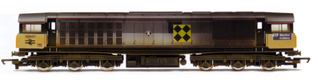 Class 58 Diesel Locomotive - Manton Coillery (Weathered)