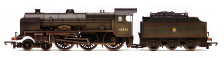 Patriot Class 5XP Locomotive - Home Guard (Weathered)