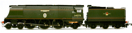 Battle Of Britain Class Locomotive - 222 Squadron