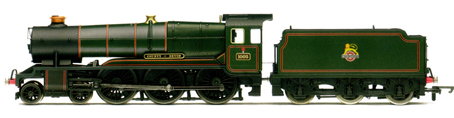 County Class Locomotive - County Of Devon