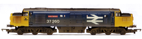 Class 37 Co-Co Diesel Electric Locomotive - Radio Highland
