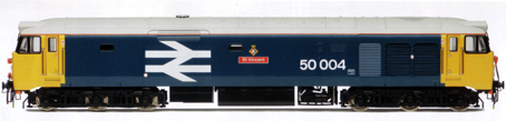 Class 50 Co-Co Diesel Electric Locomotive - St Vincent