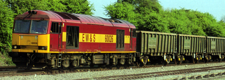 Class 60 Diesel Electric Locomotive