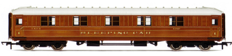 L.N.E.R. 61ft 6in Corridor 1st Class Sleeper Coach