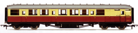 B.R. 61ft 6in Corridor Brake Coach
