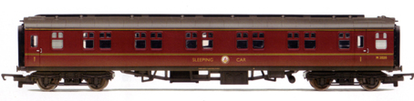 B.R. Mk1 Sleeper Coach (Weathered)