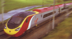 Virgin Trains Pendolino - Digital Train Set