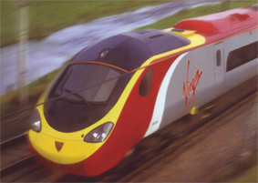 Virgin Trains Class 390 Four Car Pendolino (Class 390 - Virgin Star)