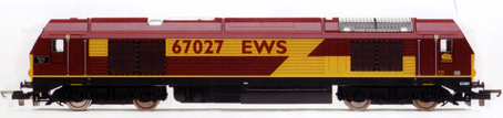 Class 67 Bo-Bo Diesel Electric Locomotive - Rising Star