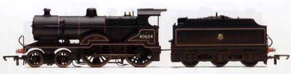 Class 2P Locomotive (Weathered)