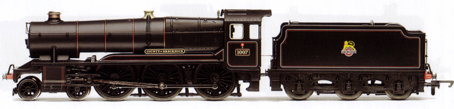 County Class Locomotive - County Of Brecknoch