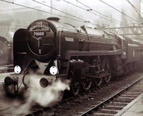 Britannia Class 7MT Locomotive - William Wordsworth