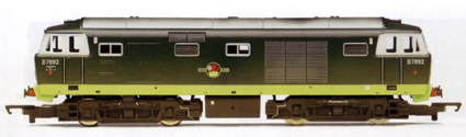 Class 35 Diesel Hydraulic Locomotive (Weathered)