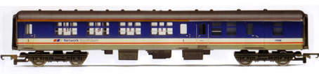 B.R. Mk 2a 1st Class Brake Coach (Weathered)