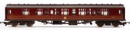 B.R. Mk1 Composite Coach (Weathered)