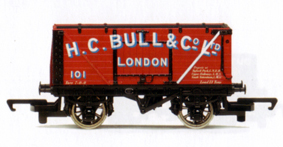 H.C. Bull End Tipping Open Wagon