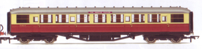B.R. 61ft 6in Corridor 3rd Class Coach