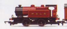 MSLR 0-4-0T Locomotive