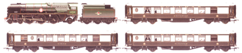Venice Simplon-Orient-Express British Pullman - Premier Boxed Set - Digital Train Set