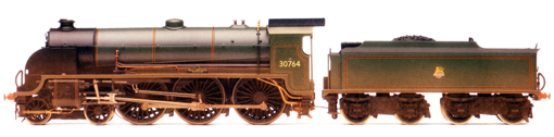 Class N15 Locomotive - Sir Gawain (Weathered)