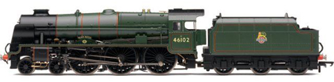 Royal Scot Class Locomotive - Black Watch