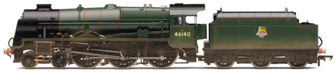 Royal Scot Class Locomotive - The Kings Royal Rifle Corps (Weathered)