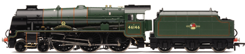 Royal Scot Class Locomotive - The Rifle Brigade