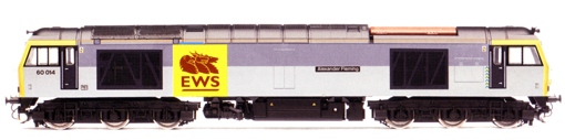 Class 60 Diesel Electric Locomotive - Alexander Fleming