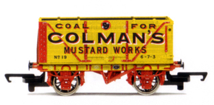Colemans Mustard Works End Tipping Wagon
