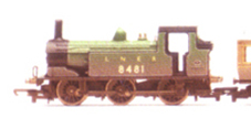 Class J83 0-6-0T Locomotive (Weathered)