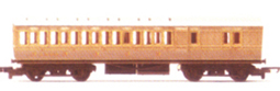 L.N.E.R. Clerestory Brake Coach