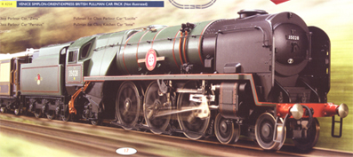 Merchant Navy Class Locomotive - Clan Line