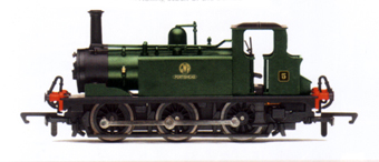 0-6-0T Terrier Locomotive - Portishead