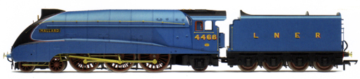 Class A4 Locomotive - Mallard - 70th Anniversary Gold - Limited Edition