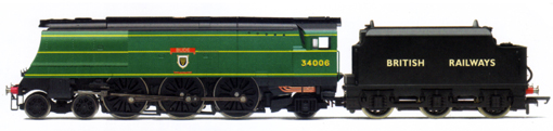 West Country Class Locomotive With Stanier Tender - Bude - Limited Edition