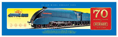 Class A4 Locomotive - Sir Nigel Gresley - 70 Years Of Hornby - 1938 - 2008 - Limited Ediiton