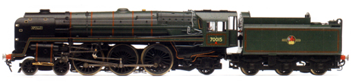 Britannia Class 7P6F Locomotive - Apollo