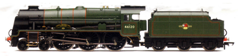 Royal Scot Class Locomotive - Royal Inniskilling Fusiliers