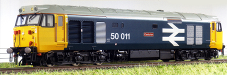 Class 50 Co-Co Diesel Electric Locomotive - Centurian